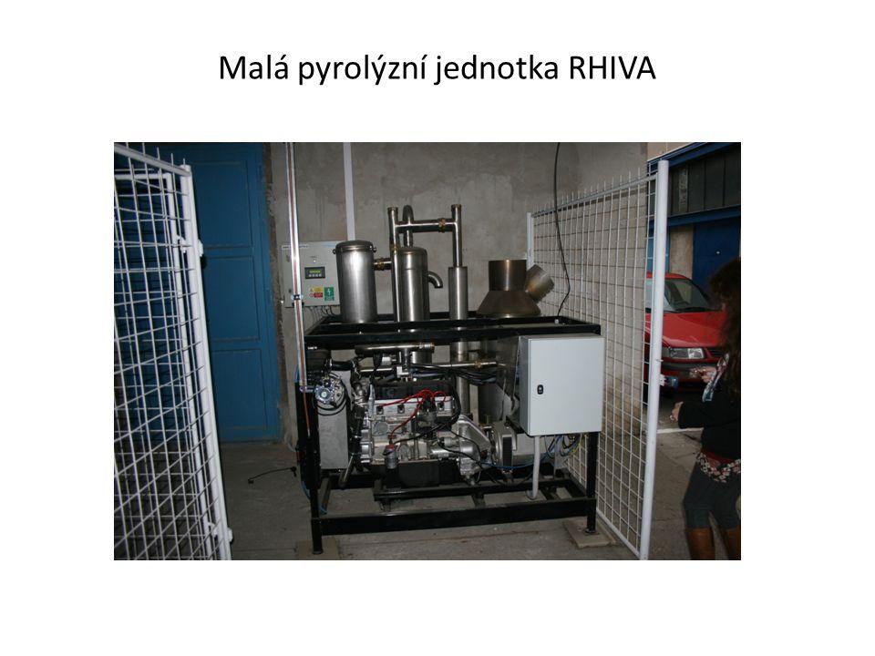 Malá pyrolýzní jednotka RHIVA