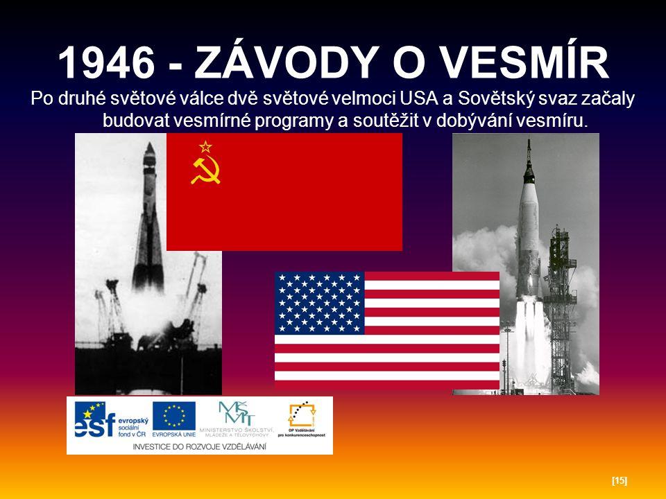 1957 - PRVNÍ DRUŽICE 4.