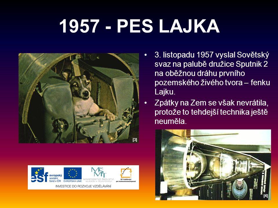 1957 - PES LAJKA 3.