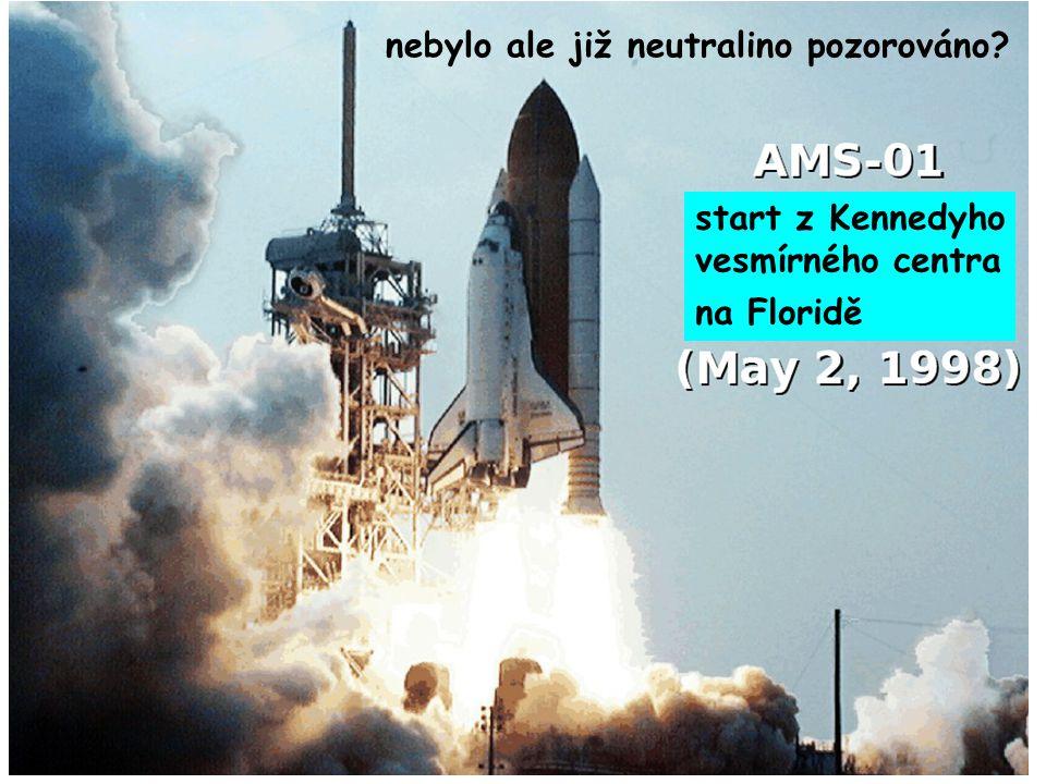15. října 2008Ústavní semínář FZÚ60 start z Kennedyho vesmírného centra na Floridě nebylo ale již neutralino pozorováno?