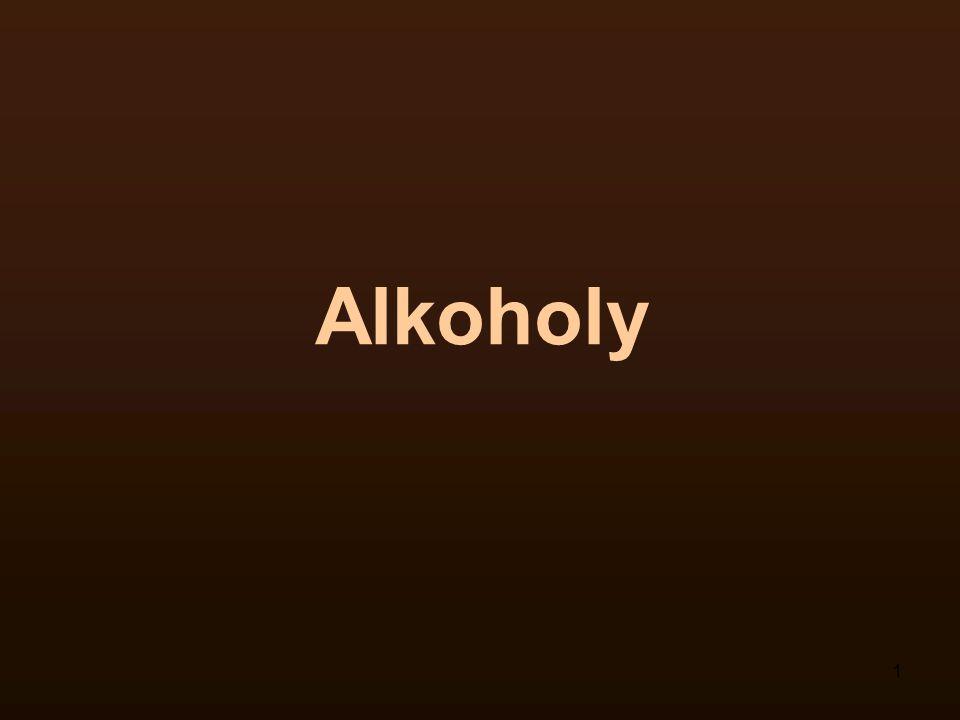 1 Alkoholy