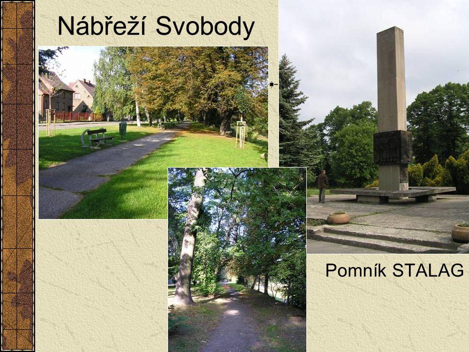 Nábřeží Svobody Pomník STALAG