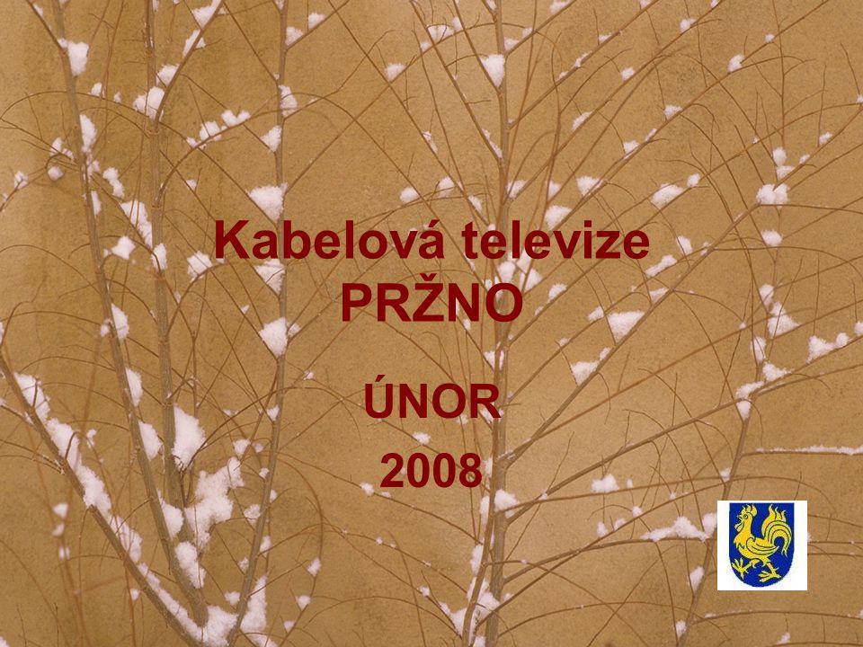 Kabelová televize PRŽNO ÚNOR 2008