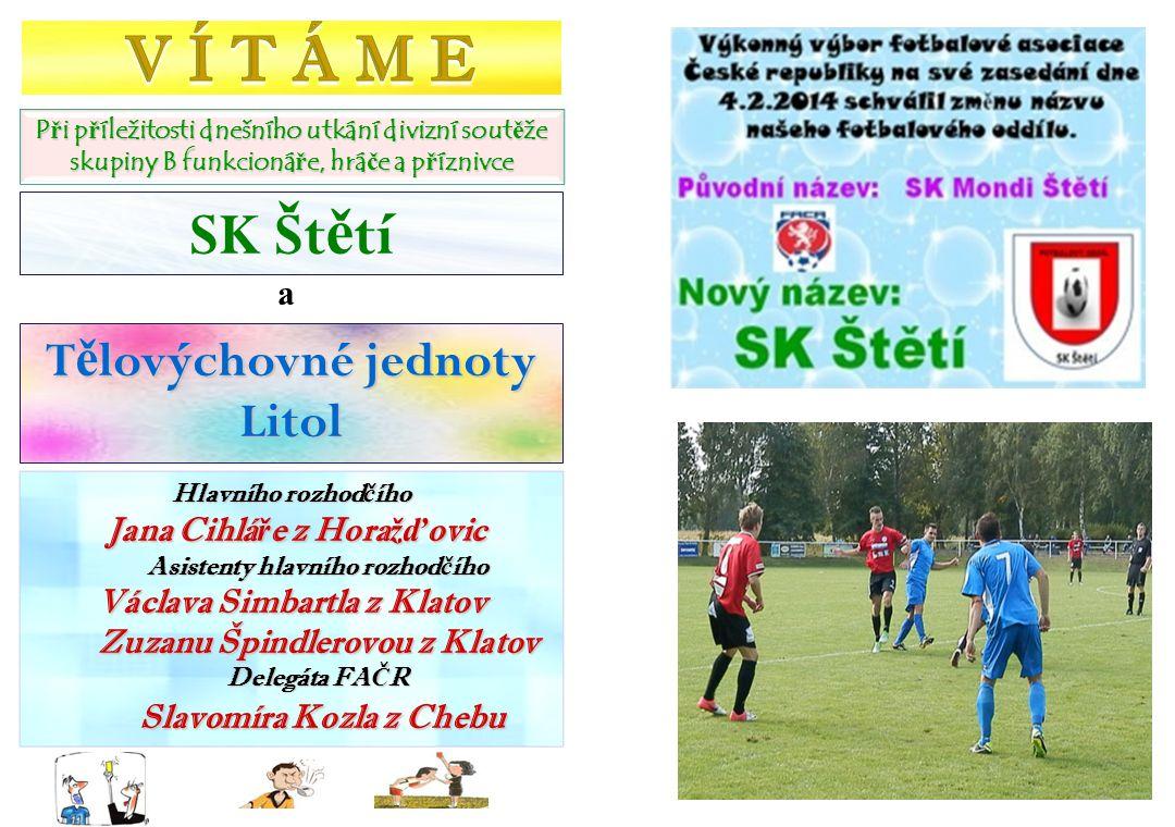 TJ Slavia Louňovice – SK Mondi Štětí 5:0(1:0) 17.11.2013 15.kolo První 2 možnosti dostat se do vedení mělo ale naše mužstvo.