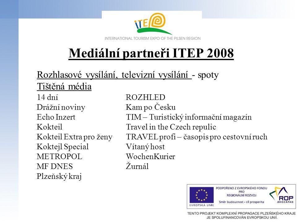 Propagace ITEP 2009 a vystavovatelů Plakáty v čj., nj.