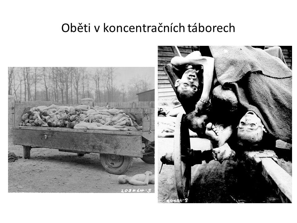 Oběti v koncentračních táborech