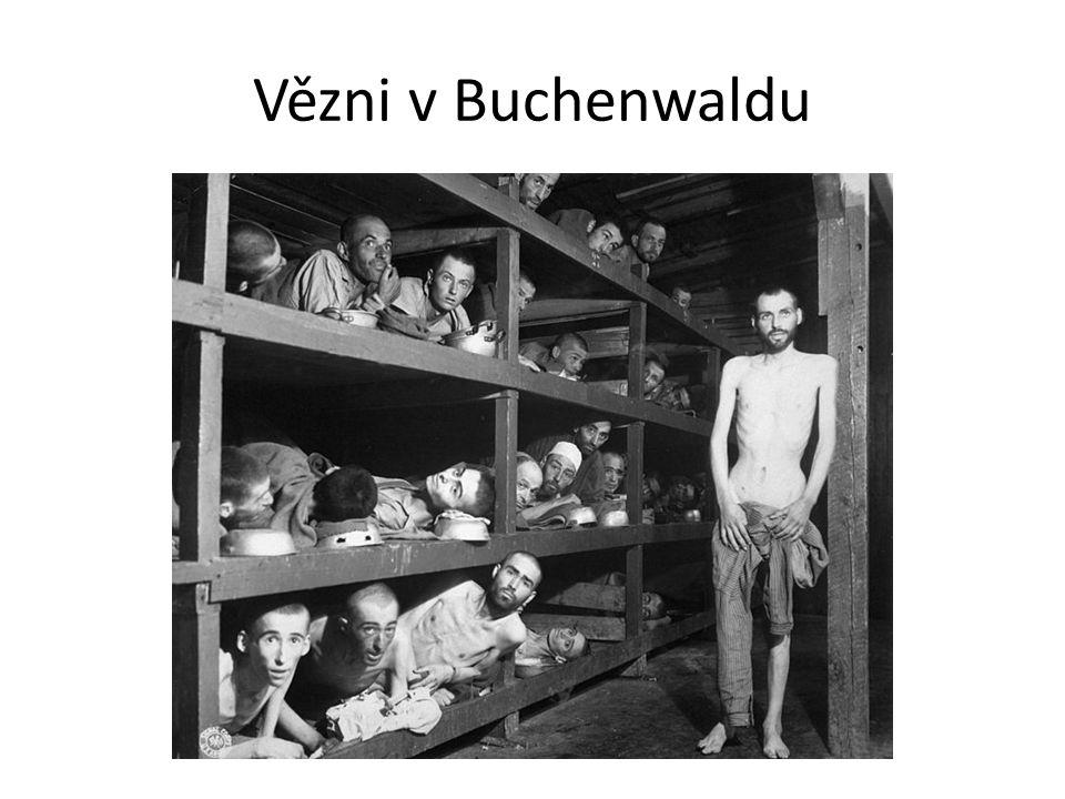 Vězni v Buchenwaldu
