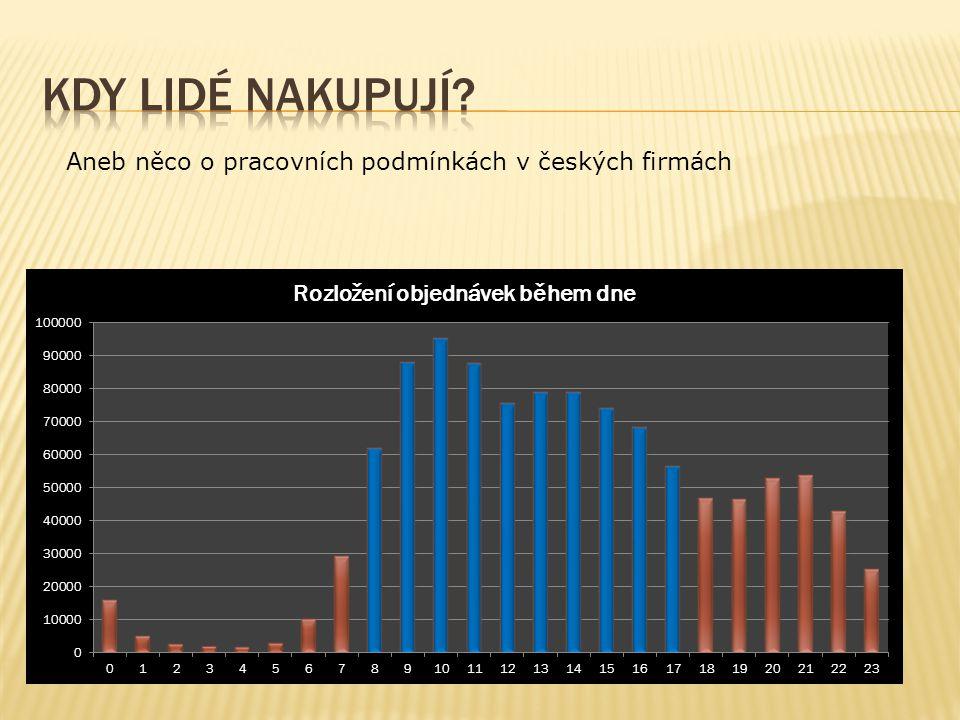 Aneb něco o pracovních podmínkách v českých firmách