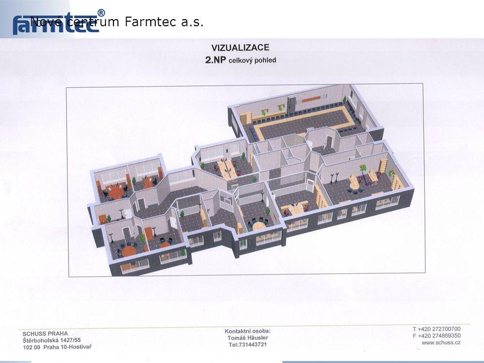 Nové centrum Farmtec a.s.