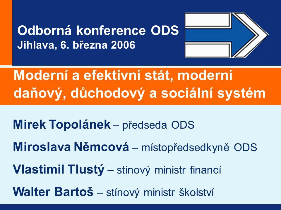 Odborná konference ODS Jihlava, 6.