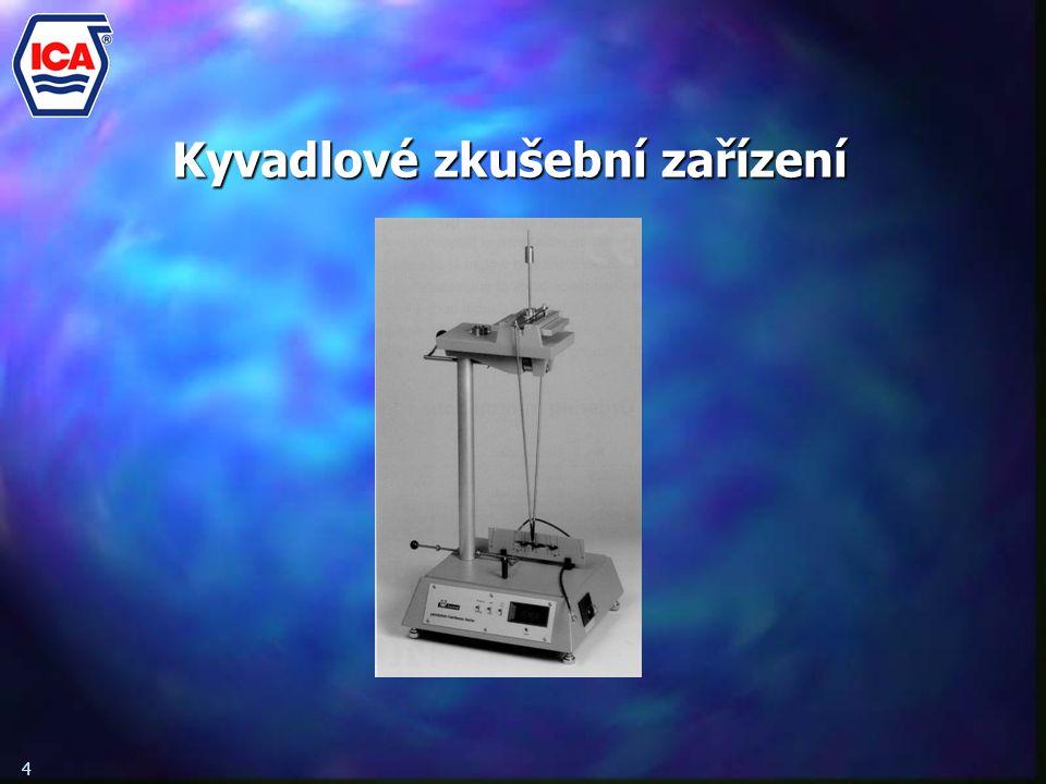 Kyvadlové zkušební zařízení 4