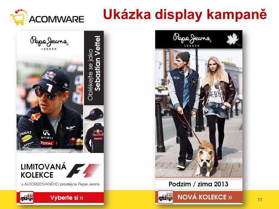 Ukázka display kampaně 15. – 17. 4. 201411