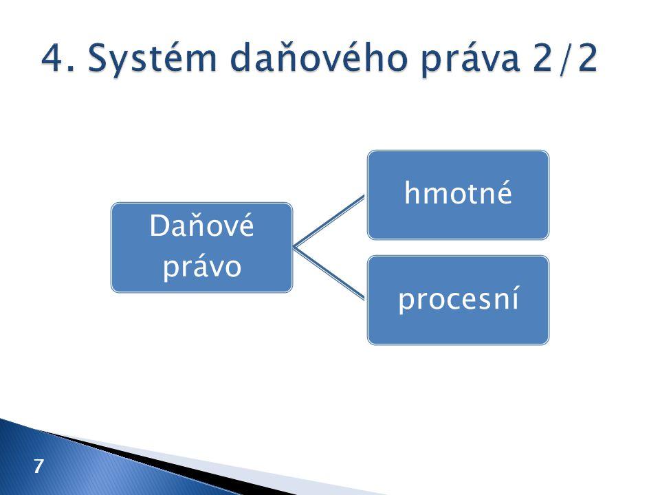18 A.Subjekt B. Předmět C. Základ D. Sazba E. (Výpočet) F.