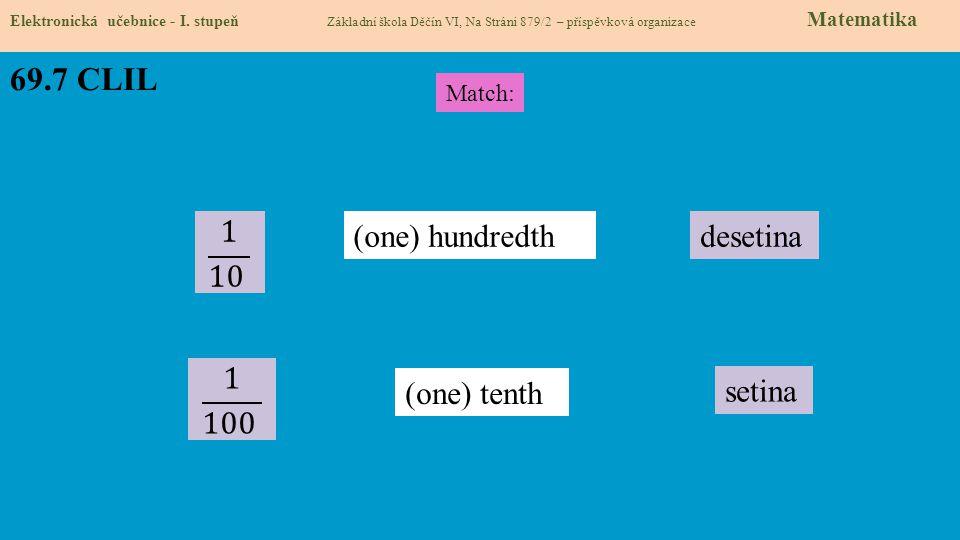 69.7 CLIL Elektronická učebnice - I.