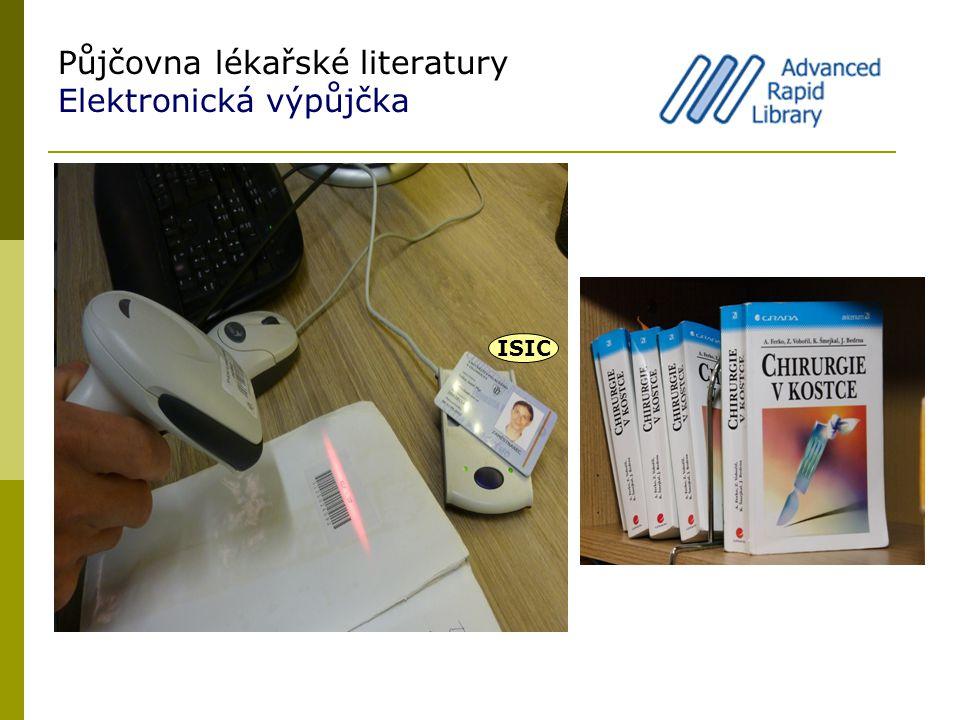 Půjčovna lékařské literatury Elektronická výpůjčka ISIC