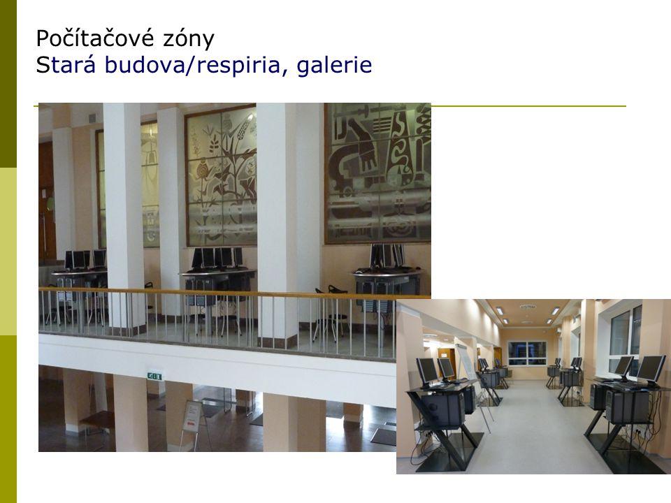 23 Počítačové zóny Stará budova/respiria, galerie