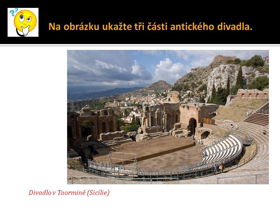 Divadlo v Taormině (Sicílie)