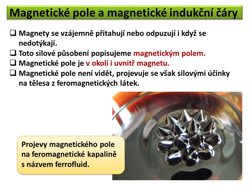 Jedna z možností, jak magnetické pole odhalit, je použití magnetky.