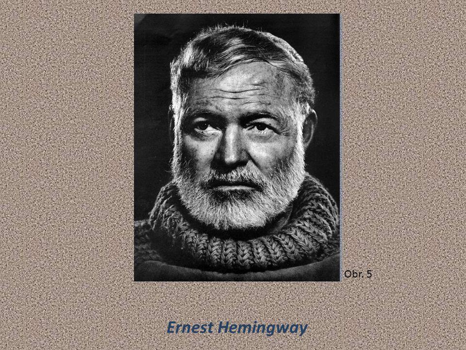 Ernest Hemingway Obr. 5