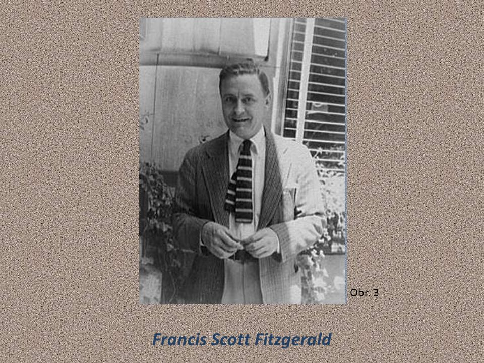 Francis Scott Fitzgerald Obr. 3