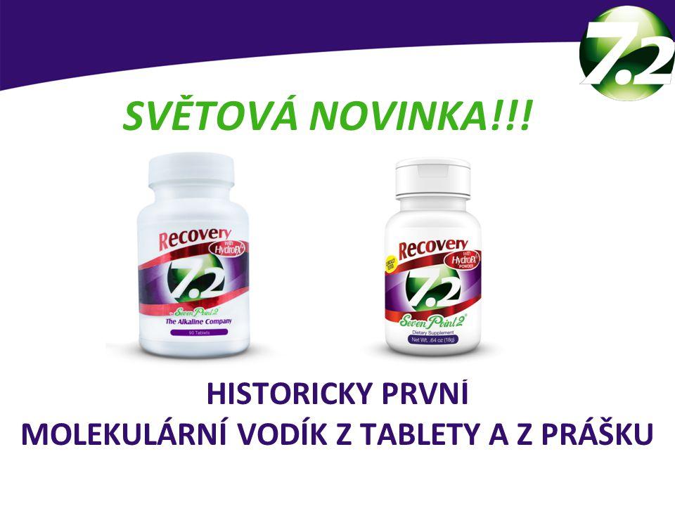 HISTORICKY PRVNÍ MOLEKULÁRNÍ VODÍK Z TABLETY A Z PRÁŠKU SVĚTOVÁ NOVINKA!!.