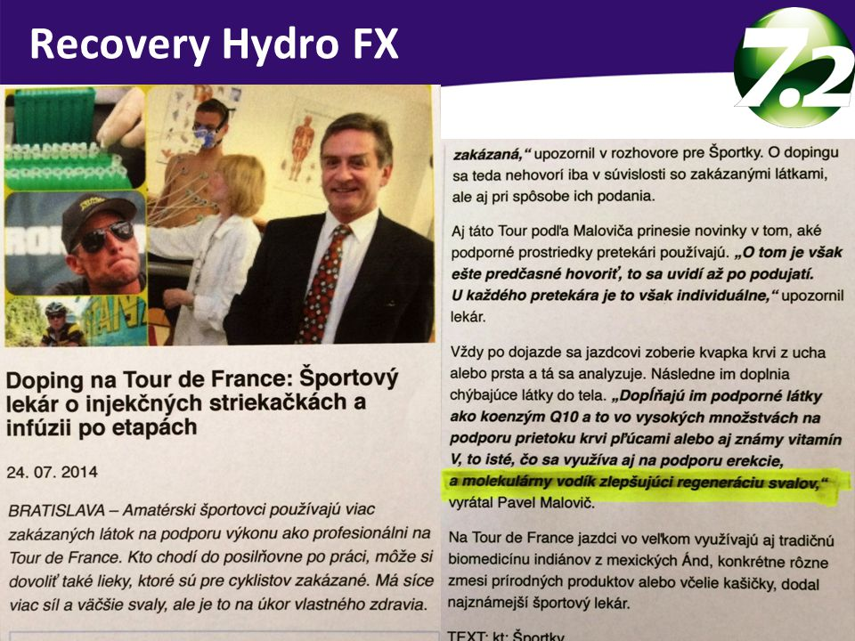 Recovery Hydro FX