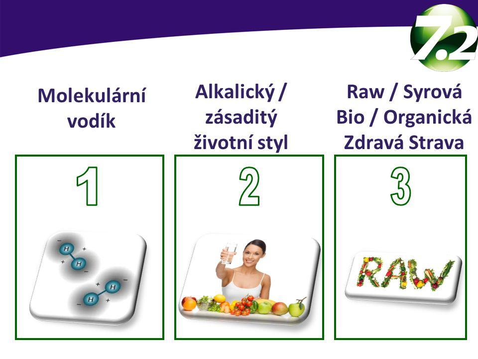 SevenPoint2 základy Molekulární vodík Raw / Syrová Bio / Organická Zdravá Strava Alkalický / zásaditý životní styl