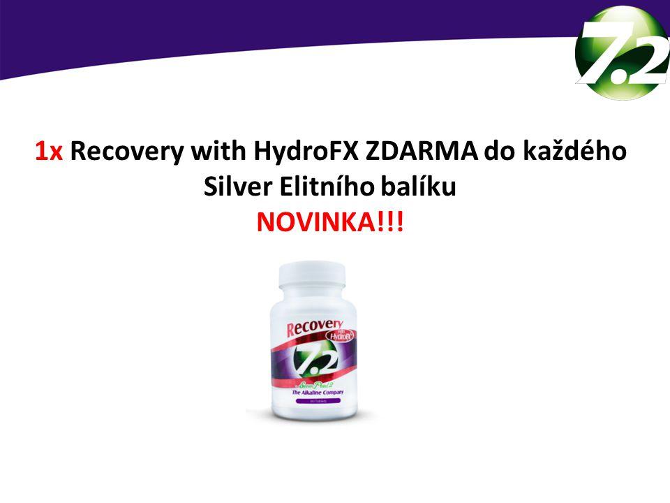 1x Recovery with HydroFX ZDARMA do každého Silver Elitního balíku NOVINKA!!! Nový produkt zdarma