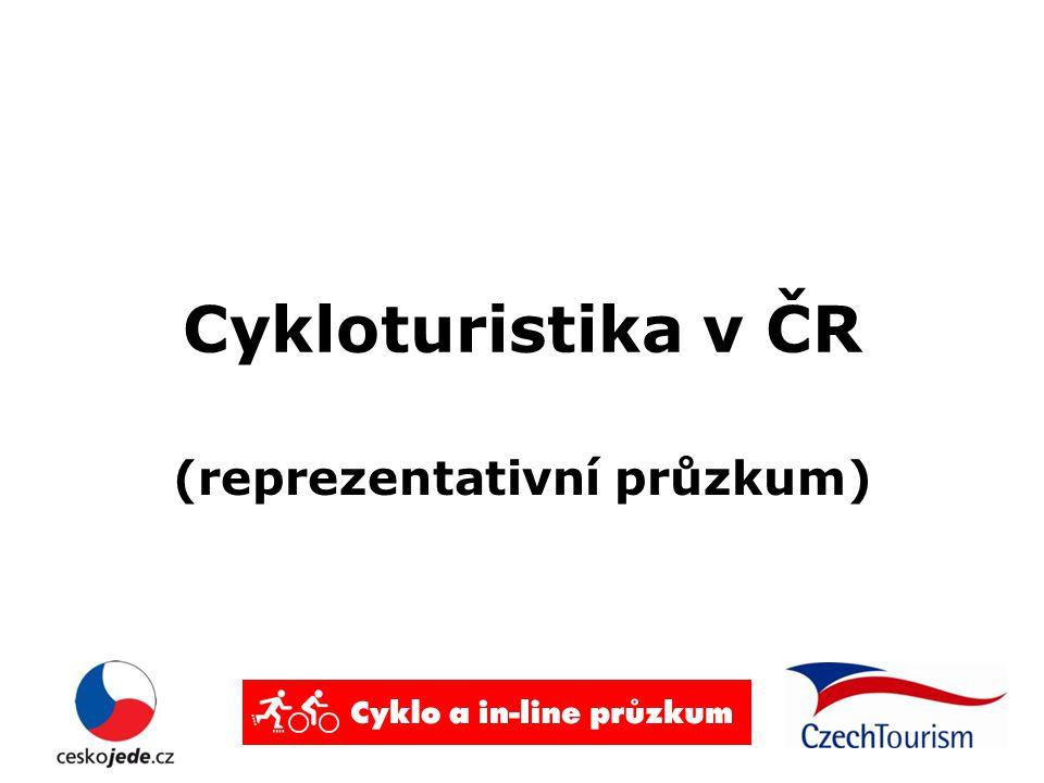 Cykloturistika v ČR (reprezentativní průzkum)