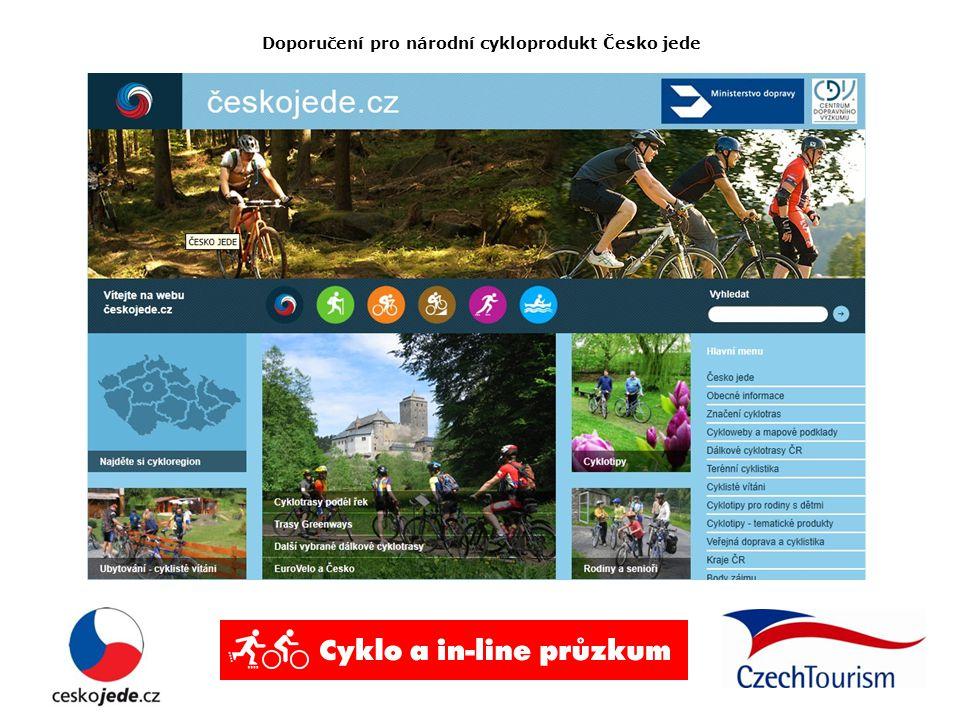 Doporučení pro národní cykloprodukt Česko jede