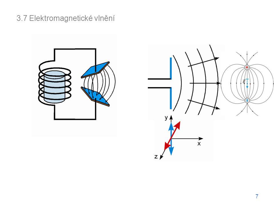 3.7 Elektromagnetické vlnění 7