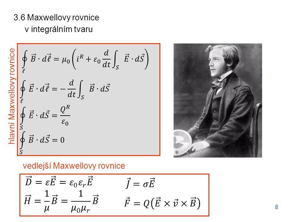 3.6 Maxwellovy rovnice Maxwell.rov.