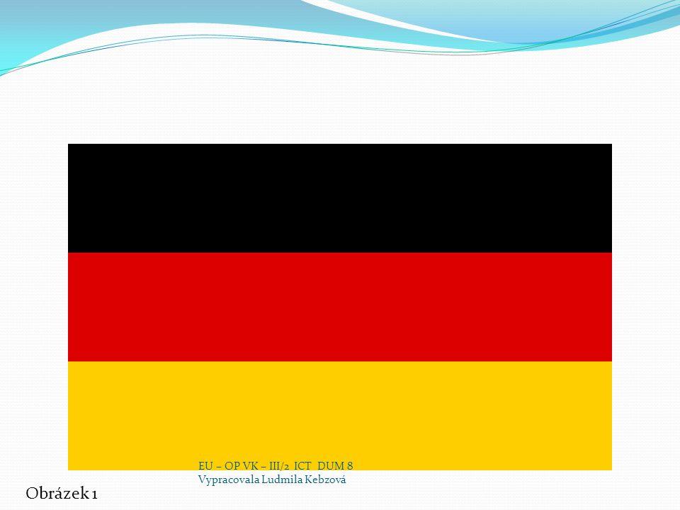 města V Německu je asi 80 velkoměst (obce které mají nad 100 000 obyvatel) Pět největších německých měst: Berlín 3,42 miliónů obyvatel Hamburk 1,77 miliónů obyvatel Mnichov 1,31 miliónů obyvatel Kolín nad Rýnem 995 397 obyvatel Frankfurt nad Mohanem 669 021 obyvatel EU – OP VK – III/2 ICT DUM 8 Vypracovala Ludmila Kebzová