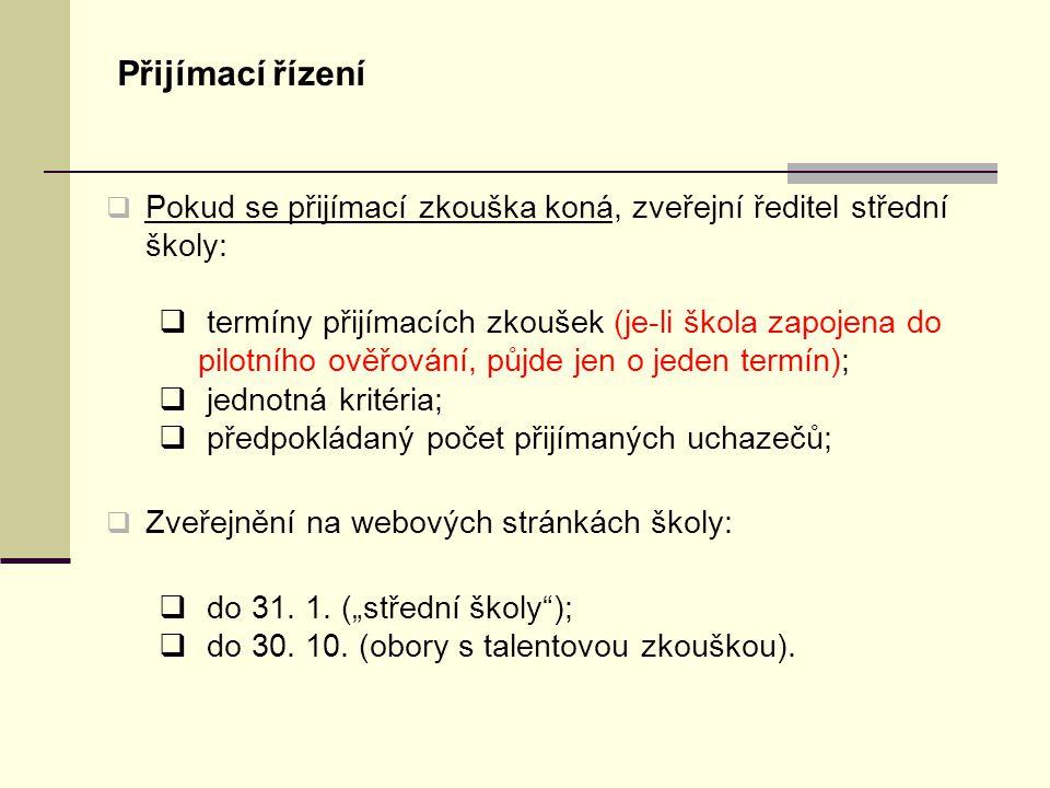 Přihlášky 2.