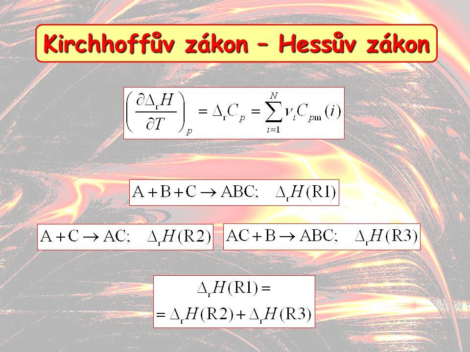 11 Kirchhoffův zákon – Hessův zákon