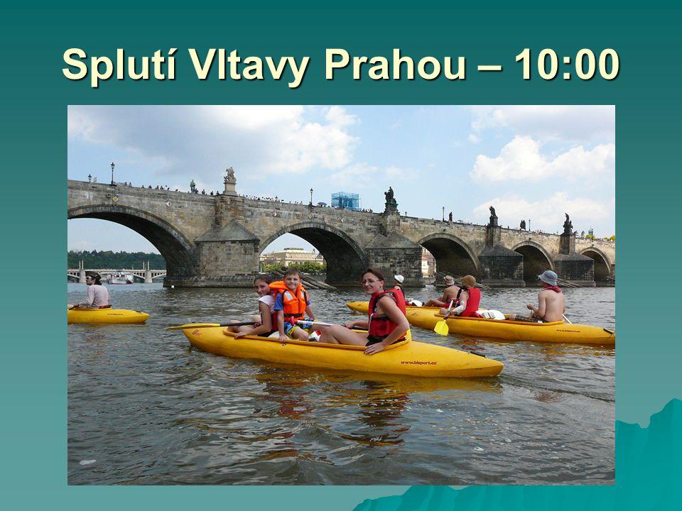 Splutí Vltavy Prahou – 10:00