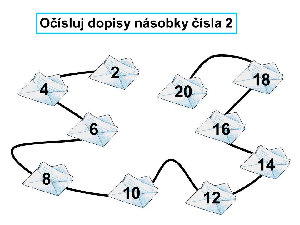 6 · 7 - 7 = 81 : 9 + 54 = 4 · 8 - 7 = 72 : 8 + 37 = 6 · 6 - 8 = 49 : 7 + 68 = Ferda Mravenec poslal svým kamarádům z prázdnin 9 dopisů.