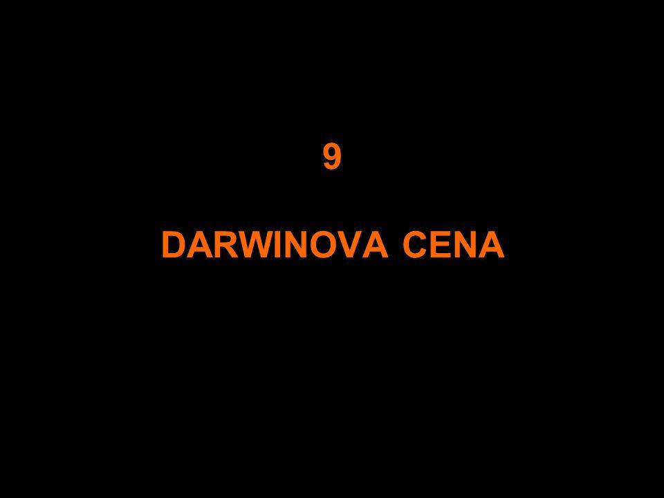 9 DARWINOVA CENA