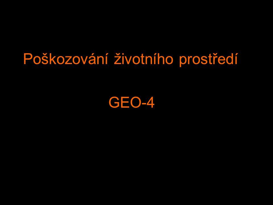 Poškozování životního prostředí GEO-4