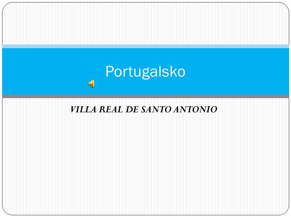 VILLA REAL DE SANTO ANTONIO Portugalsko