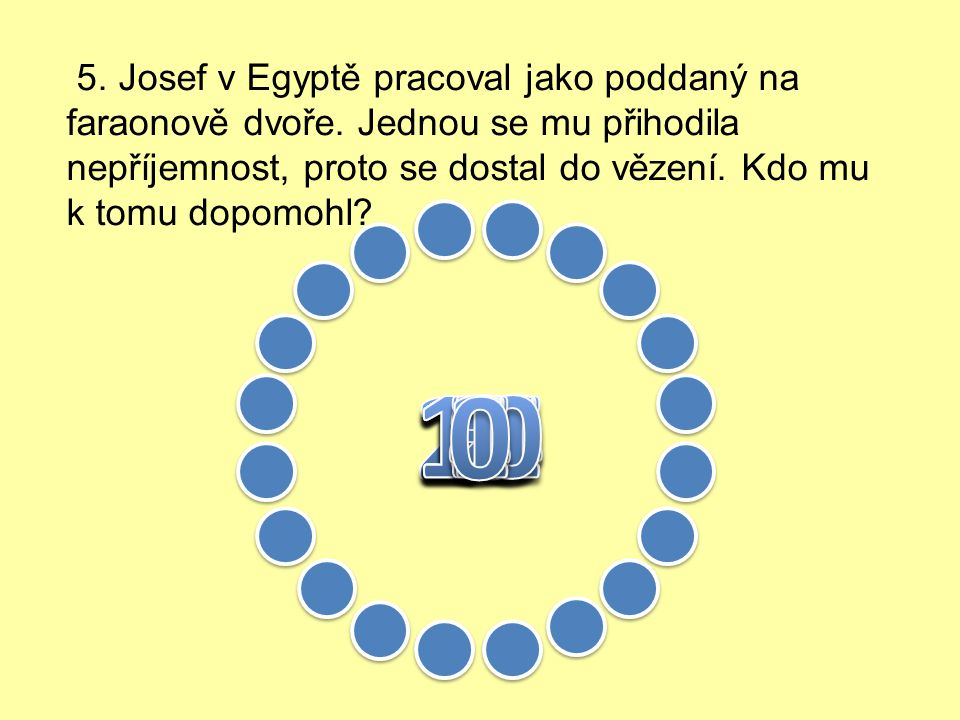 4. Jak často navštěvovali Izraelité svatyni