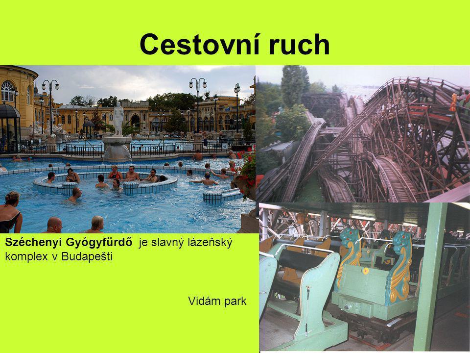 Cestovní ruch Széchenyi Gyógyfürdő je slavný lázeňský komplex v Budapešti Vidám park