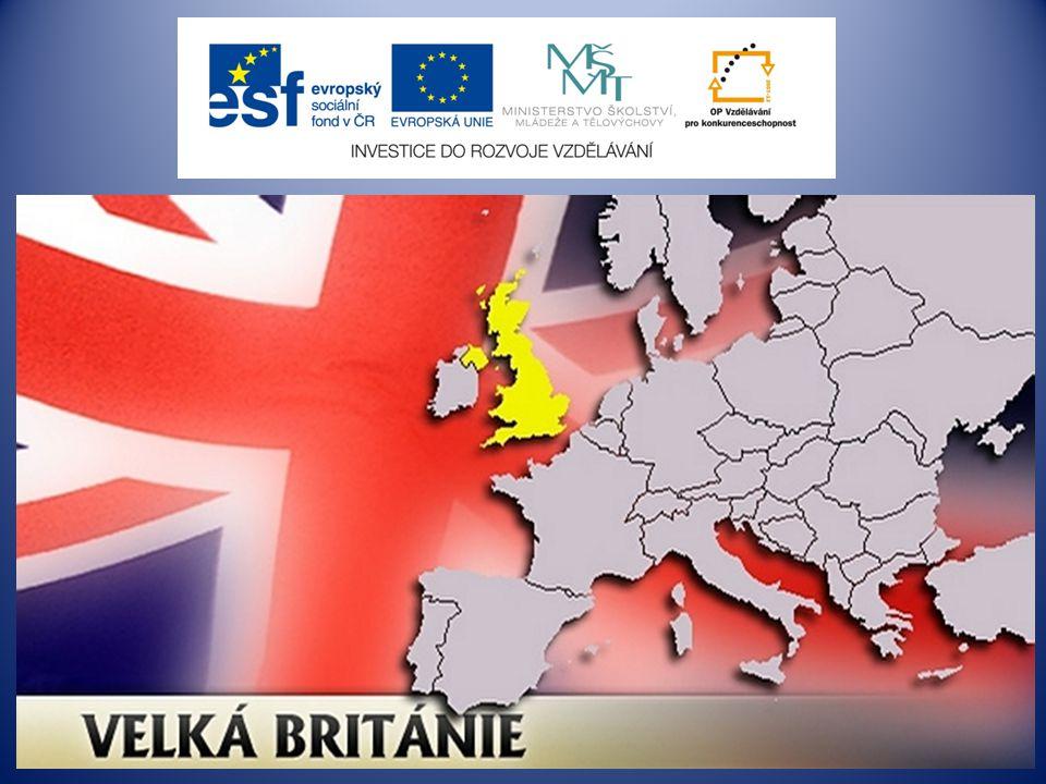Velká Británie Great Britain hlavní město: Londýn počet obyvatel: 62 mil.