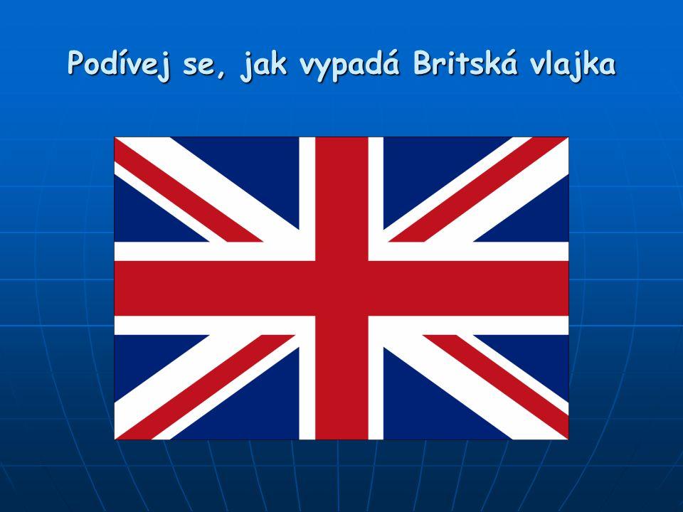 Podívej se, jak vypadá Britská vlajka