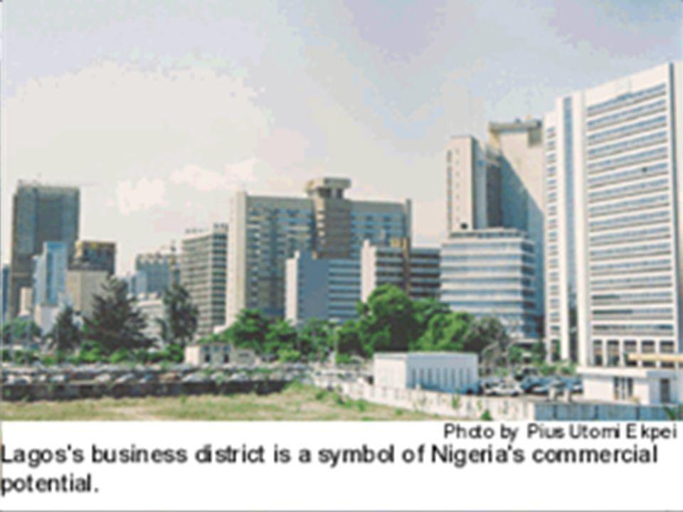 2.největší město Afriky( 13mil.obyvatel) 2.největší město Afriky( 13mil.obyvatel) největší africká stavba, Eredo.