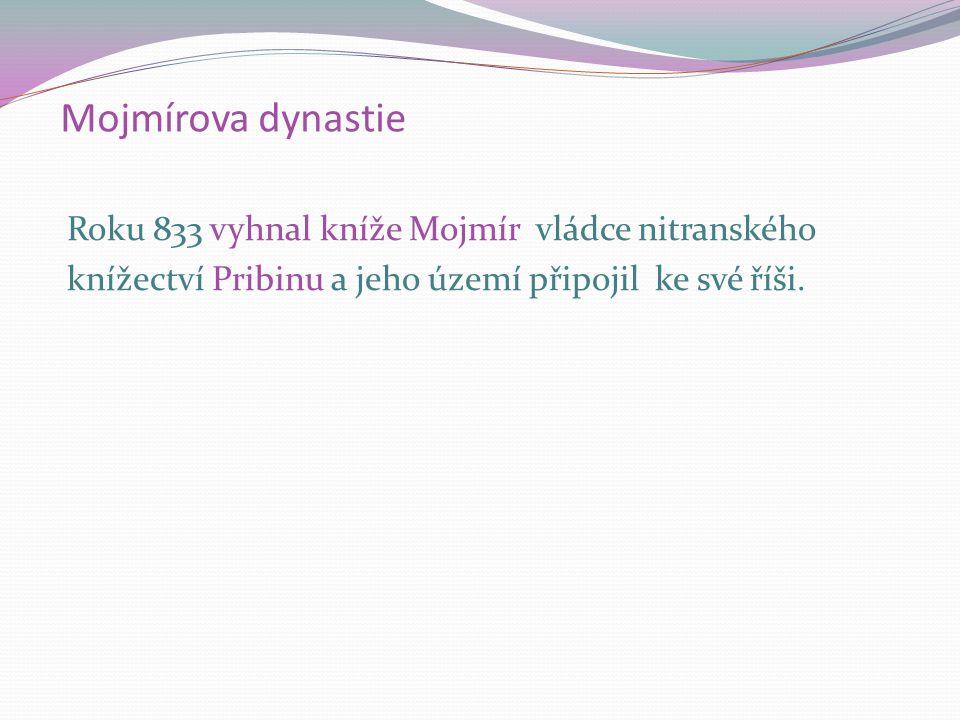 Velká Morava byla závislá na východofranské říši, která usilovala o podmanění území západních Slovanů.
