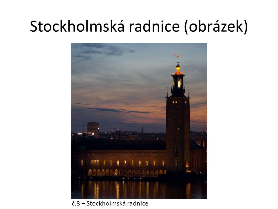 Stockholmská radnice (obrázek) č.8 – Stockholmská radnice