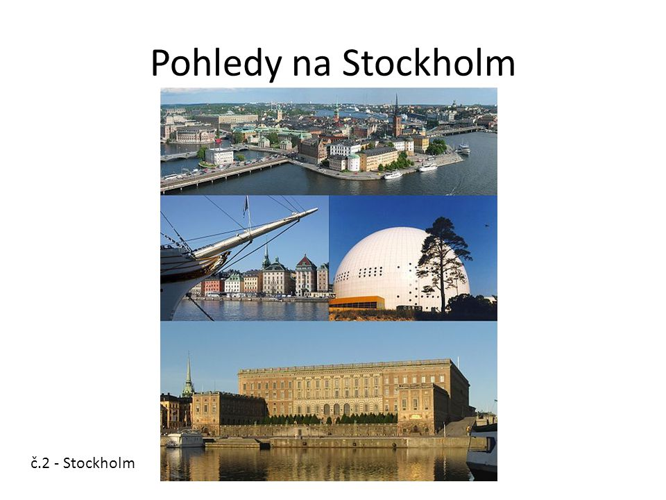 Pohledy na Stockholm č.2 - Stockholm