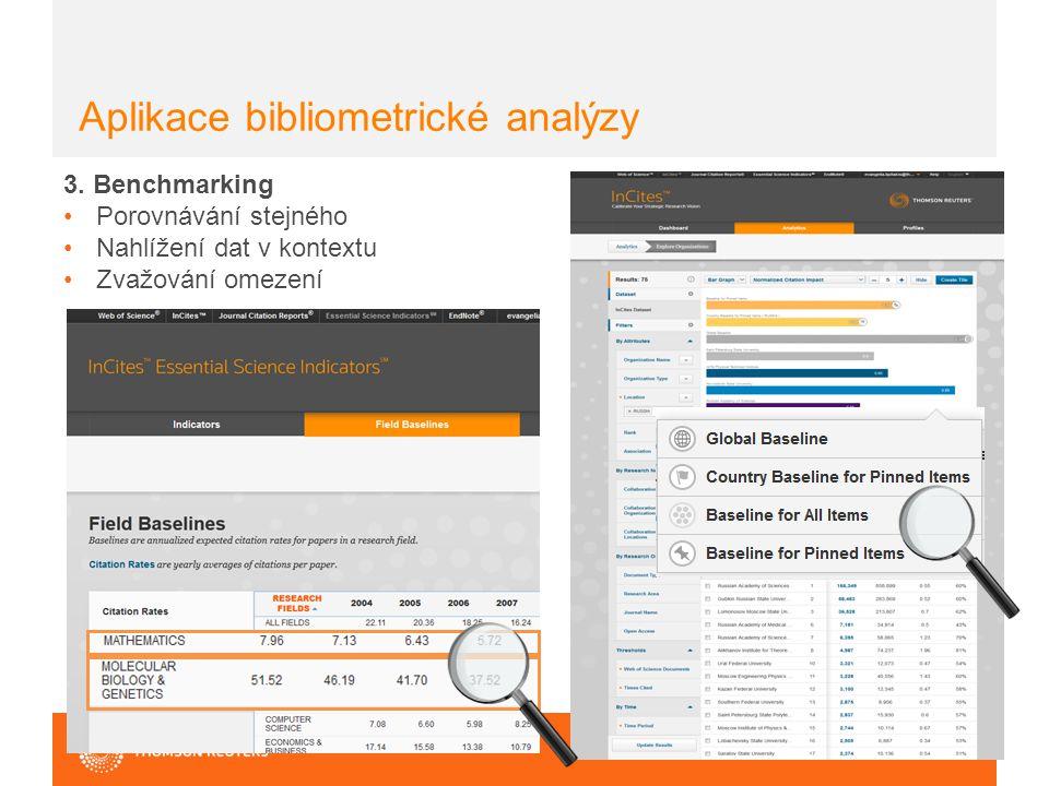 Aplikace bibliometrické analýzy 3.