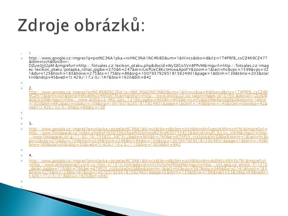  1.  http://www.google.cz/imgres?q=pot%C3%A1pka+roh%C3%A1%C4%8D&um=1&hl=cs&tbo=d&rlz=1T4PRFB_csCZ469CZ477 &tbm=isch&tbnid=r- DZyie3Jjt2pM:&imgrefurl